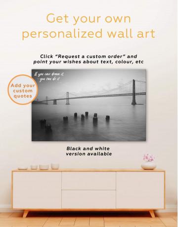 San Francisco Bridge Canvas Wall Art - image 5