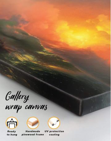 Aivazovsky The Ninth Wave Canvas Wall Art - image 4