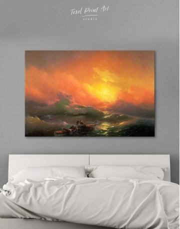 Aivazovsky The Ninth Wave Canvas Wall Art
