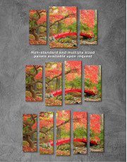 Japanese Garden Canvas Wall Art - Image 2