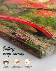 Japanese Garden Canvas Wall Art - Image 4