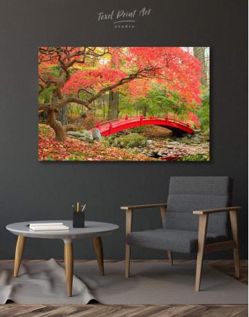 Japanese Garden Canvas Wall Art