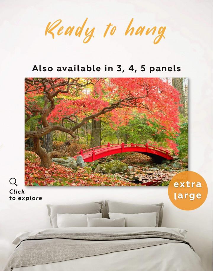 Japanese Garden Canvas Wall Art - Image 5
