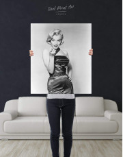 Photo Marilyn Monroe Canvas Wall Art - Image 2