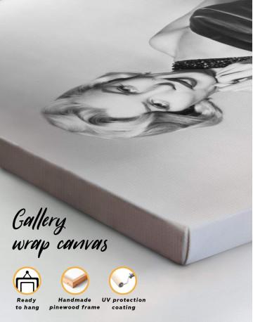 Photo Marilyn Monroe Canvas Wall Art - image 1