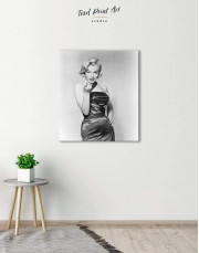 Photo Marilyn Monroe Canvas Wall Art - Image 3