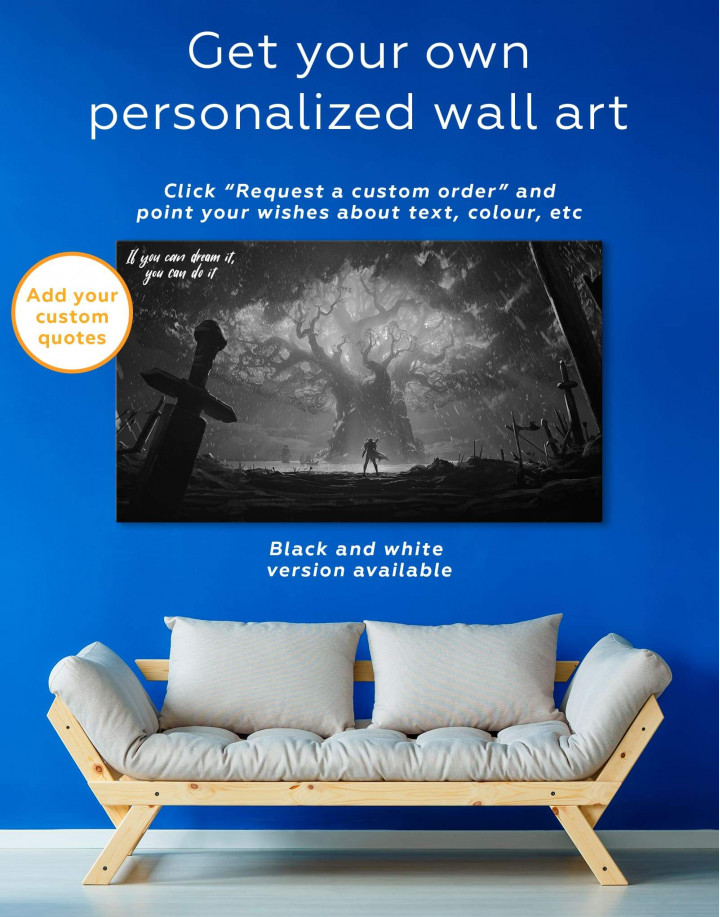 World of Warcraft Game Canvas Wall Art - Image 1