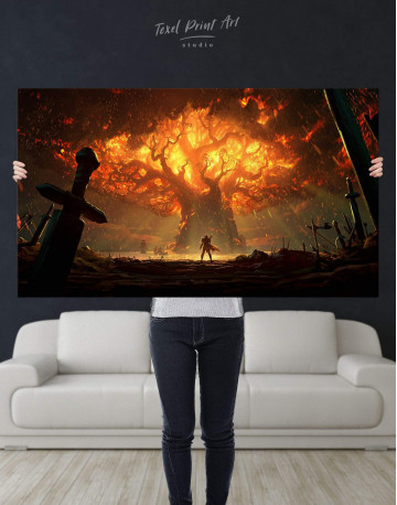 World of Warcraft Game Canvas Wall Art - image 4