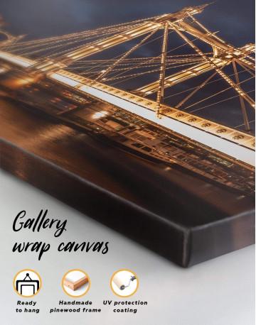 London Skyline Canvas Wall Art - image 5