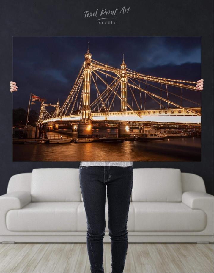 London Skyline Canvas Wall Art - Image 4