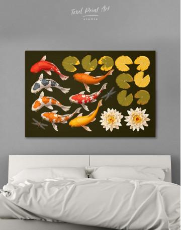 Koi Fish Canvas Wall Art - image 5