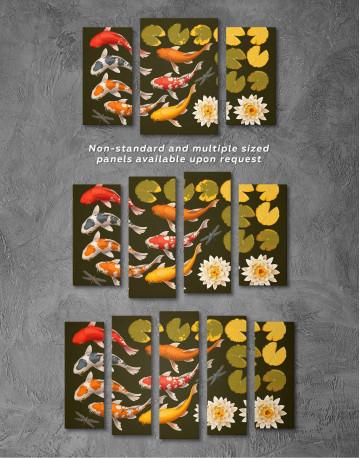 Koi Fish Canvas Wall Art - image 2