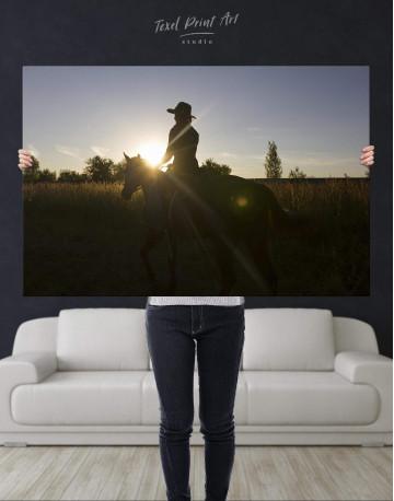Horse Riding Canvas Wall Art - image 4