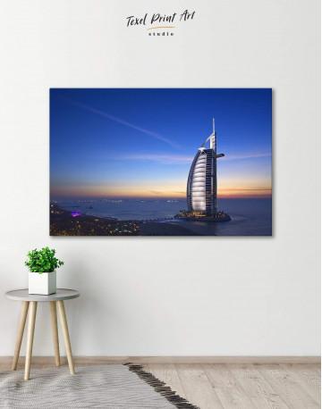 Burj Al Arab Jumeirah Canvas Wall Art