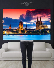 Germany Cityscape Canvas Wall Art - Image 4