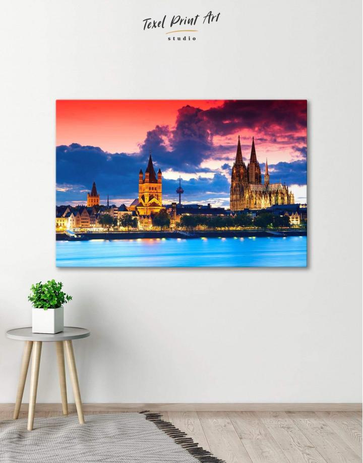 Germany Cityscape Canvas Wall Art - Image 0