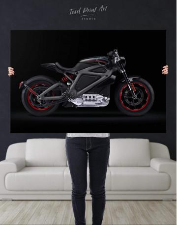 Black Widow's Motorcycle Canvas Wall Art - image 4