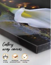 Calla Lily Canvas Wall Art - Image 1