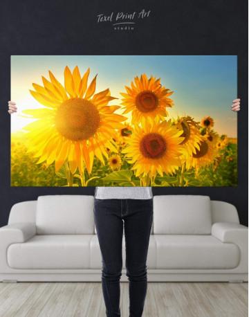 Sunflowers Field Canvas Wall Art - image 2