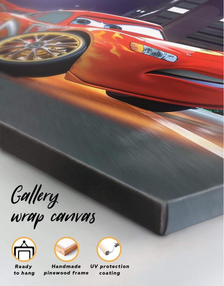 Cars 2 Canvas Wall Art - Image 1