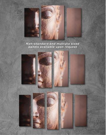 Buddha Religious Canvas Wall Art - image 4