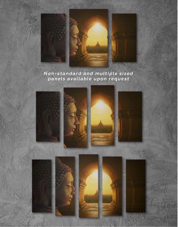 Equanimity of Buddha Canvas Wall Art - image 2