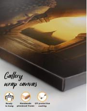 Equanimity of Buddha Canvas Wall Art - Image 5