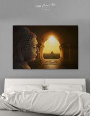 Equanimity of Buddha Canvas Wall Art - Image 0