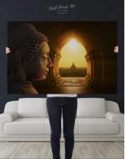 Equanimity of Buddha Canvas Wall Art - Image 4