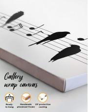 Notes Canvas Wall Art - Image 1