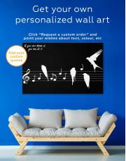 Notes Canvas Wall Art - Image 5