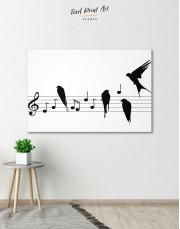 Notes Canvas Wall Art - Image 0