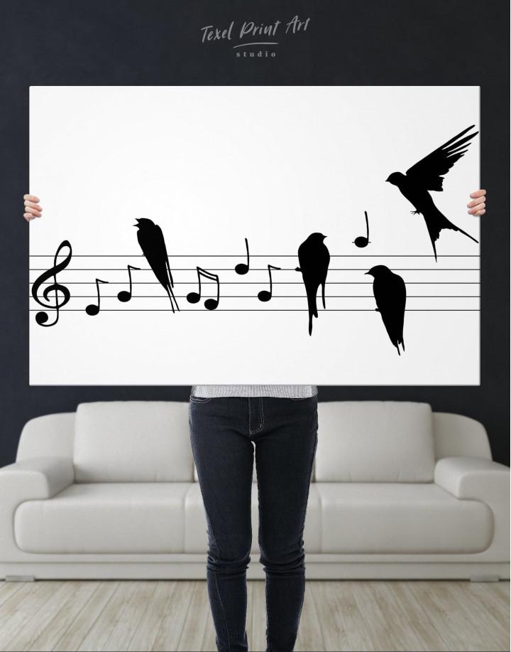 Notes Canvas Wall Art - Image 2