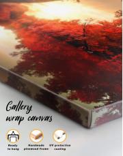 Autumn Landscape Canvas Wall Art - Image 5