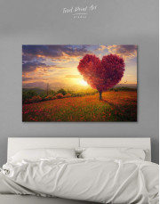 Romantic Landscape Canvas Wall Art - Image 0