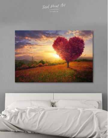 Romantic Landscape Canvas Wall Art