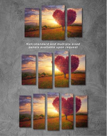 Romantic Landscape Canvas Wall Art - image 2