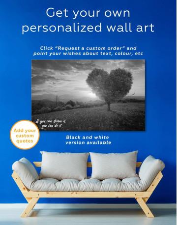 Romantic Landscape Canvas Wall Art - image 1