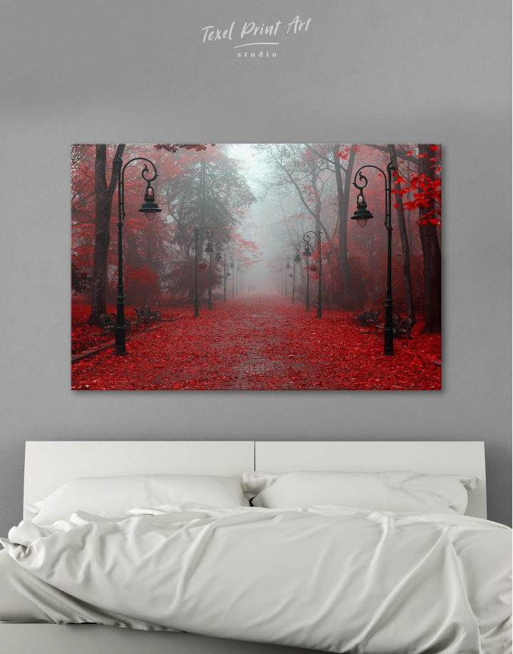 Autumn Forest Canvas Wall Art