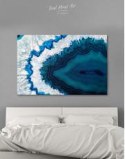 Geode Canvas Wall Art - Image 0