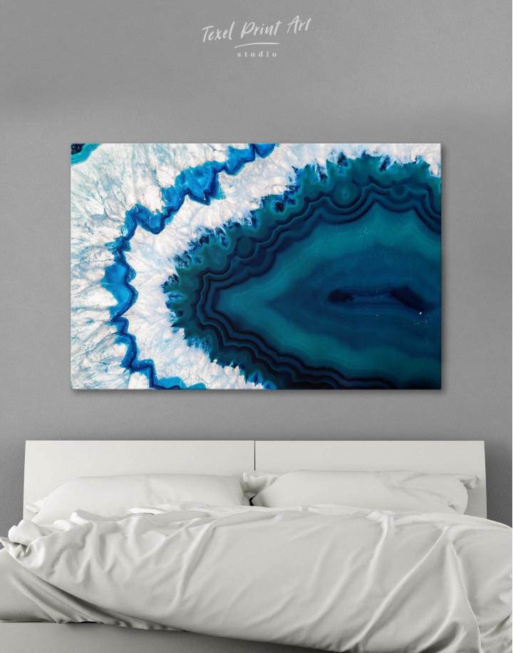 Geode Canvas Wall Art