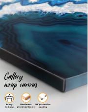 Geode Canvas Wall Art - Image 1