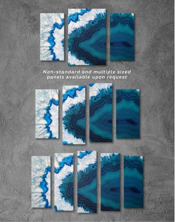 Geode Canvas Wall Art - image 4