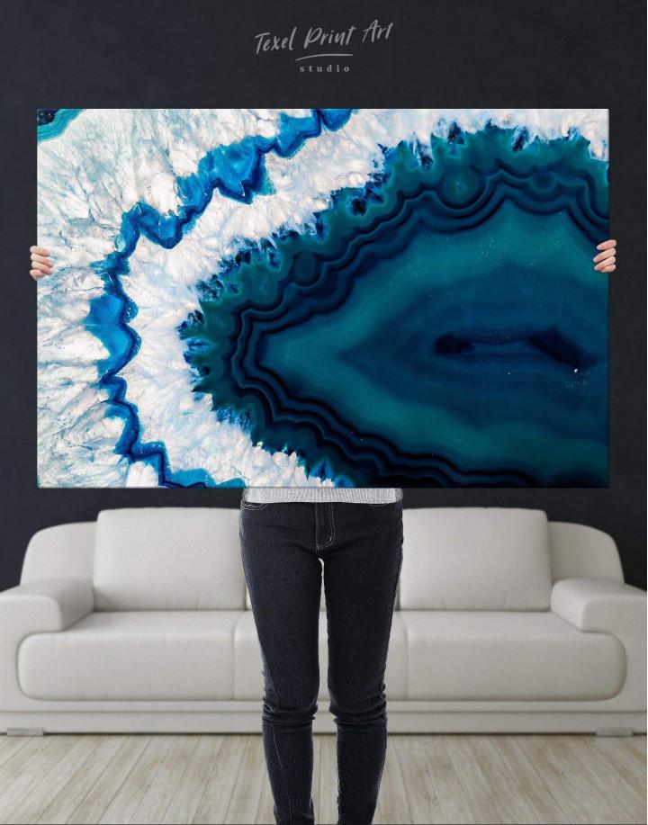 Geode Canvas Wall Art - Image 2