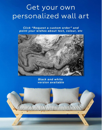 Marble Geode Canvas Wall Art - image 5