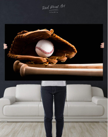 Baseball Bats Canvas Wall Art - image 4
