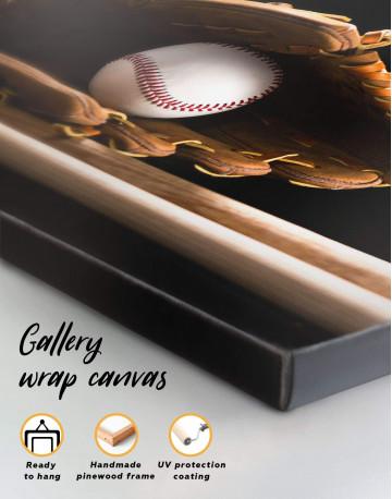 Baseball Bats Canvas Wall Art - image 5