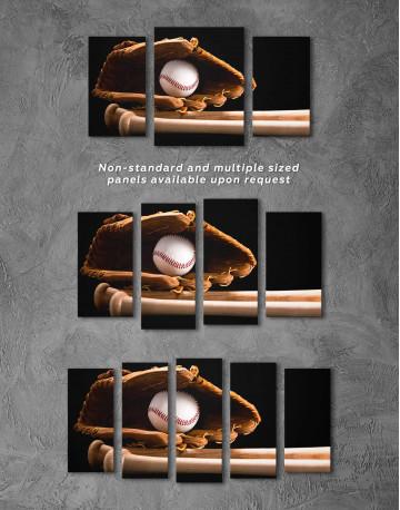 Baseball Bats Canvas Wall Art - image 2