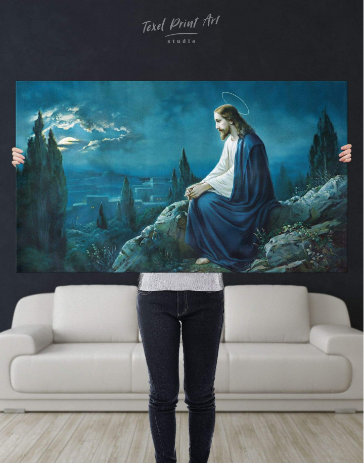 Jesus Christian Canvas Wall Art - Image 2