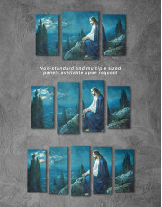 Jesus Christian Canvas Wall Art - Image 4